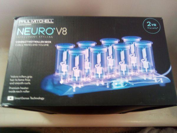 Paul Mitchell Neuro V8 hair curlers