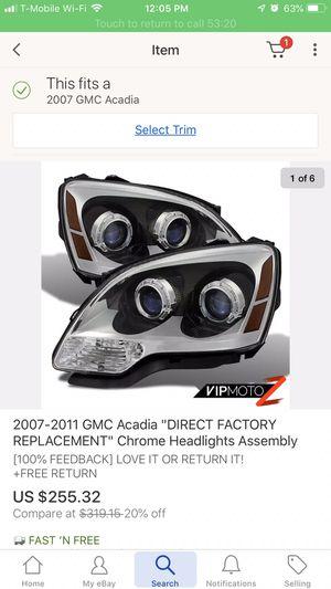 Acadia headlights for Sale in Fresno, CA