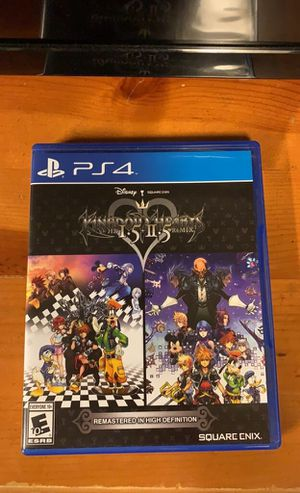 Kingdom hearts 1.5 / 2.5 remix ps4 for Sale in Cumming, GA