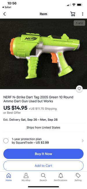 NERF N-Strike Dart Tag Toy Gun Pistola for Sale in Miami, FL