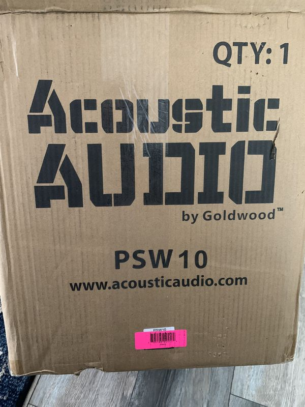 Acoustic Audio (Goldwood)