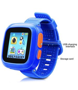 Game Smart Watch of Kids, Girls Watch with Game,Kids Smartwatch with Game Wrist Watch Education Toys Boys Girls Gifts (Dark Blue) for Sale in Brooklyn, NY