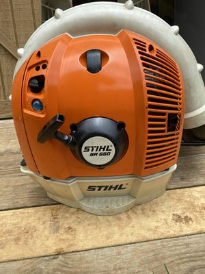 ( Pending) Stihl BR550 Commercial Backpack Blower for Sale in Murfreesboro, TN