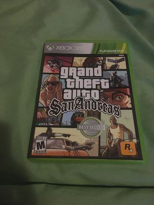 Xbox 360 GTA video game for Sale in San Juan Capistrano, CA