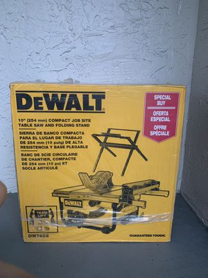 "DEWALT TABLE SAW 10"" + STAND for Sale in North Lauderdale, FL"