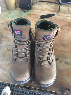 Women's size 8 D red wing shoes boots for Sale in Lakeside, CA