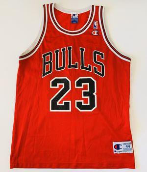 Vintage VTG Champion Jordan Jersey Size 44 Large for Sale in Miami, FL