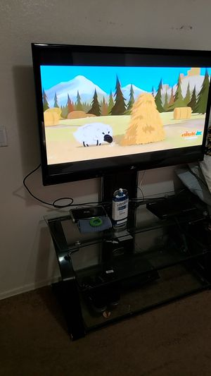 "50"" Plasma TV with Entertainment center for Sale in Apache Junction, AZ"