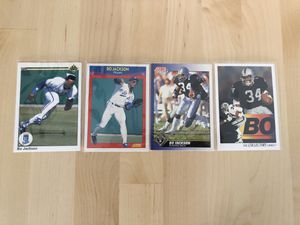 Bo Jackson collectible cards for Sale in Torrance, CA