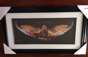 No Greater Love framed print for Sale in Crozet, VA