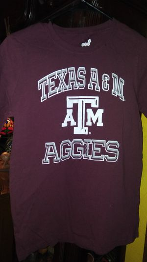 Texas A&M shirt youth large 14-16 for Sale in Garland, TX
