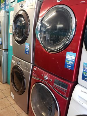 Washer and dryer set whirlpool/samsung for Sale in Montebello, CA