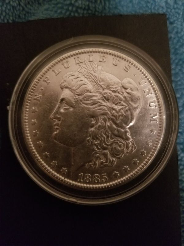 moneda de plata del año 1885, ofrezcan