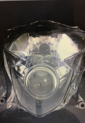 Replacement Headlight Front Lamp Assembly for 2004-2005 Suzuki GSXR 600. for Sale in Miami, FL