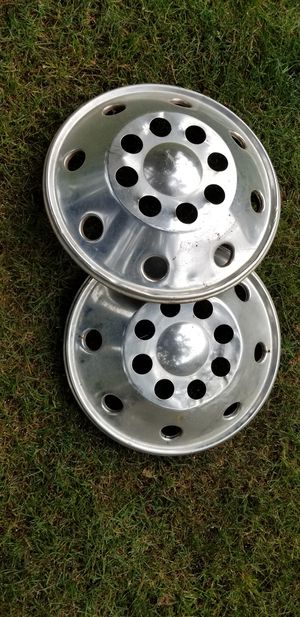 2 RV wheel covers for Sale in Puyallup, WA