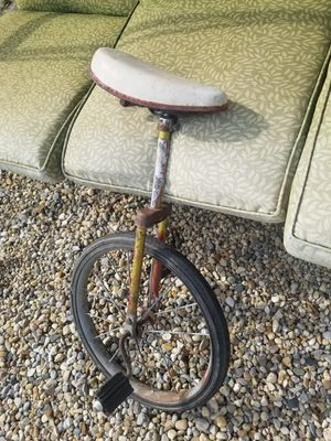 Vintage unicycle! FIRST COME! for Sale in Tremont, IL