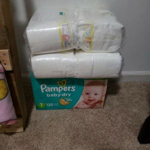 Pampers Diapers for Sale in Duncan, SC