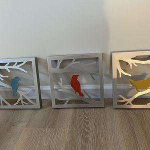 Metal Bird Decor for Sale in Watertown, CT