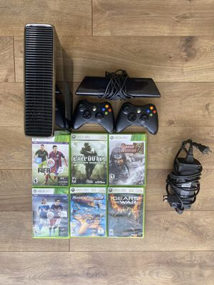 XBOX 360 +Games, Controllers, Xbox kinect for Sale in Hayward, CA