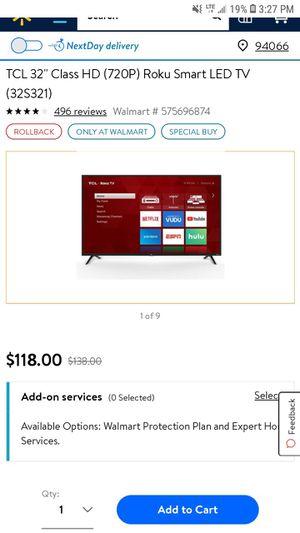TCL roku tv for Sale in Lincoln, NE