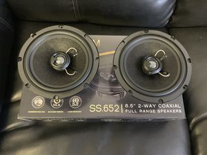 Soundstream car audio . 6.5 inch car stereo speakers. High quality. New for Sale in Mesa, AZ