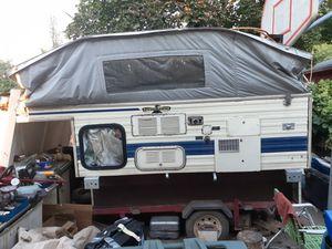Camper on harbor freight tralier for Sale in Salt Lake City, UT