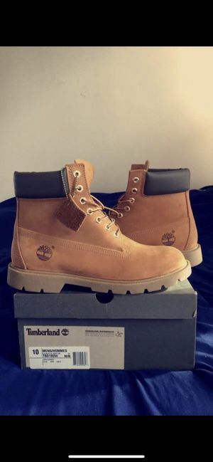 Timberland Sz 10 Mens 6 inch boot buttas for Sale in Arlington, VA