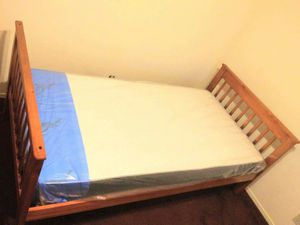 Twin size bed includes new mattress for Sale in Lindsay, CA