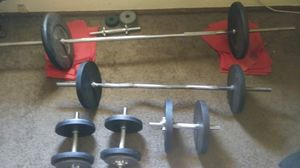 Weight set for Sale in San Jacinto, CA