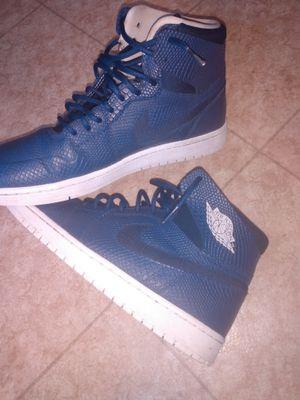Retro blue snake Nike air jordan for Sale in Norfolk, VA
