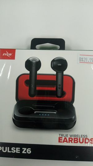 Zizo Pulse Z6 wireless Earbuds for Sale in Memphis, TN