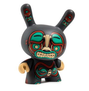 "Kuba 5"" Dunny Vinyl Figure (Only 1200 made) by Mike Fudge x Kidrobot New!! Gray for Sale in Gilbert, AZ"