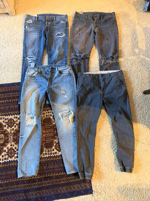 Lots of pants and shorts for sale price for all .. please see details for Sale in Los Angeles, CA