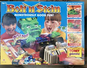 1994 Vintage Bolt n Stein Game TOMY SEALED NIB NOS NEVER OPENED for Sale in Los Angeles, CA