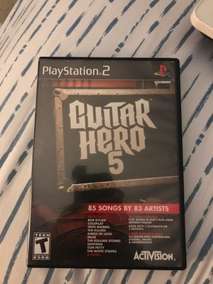 PS2 Guitar Hero 5 Game Pre-Owned for Sale in Boca Raton, FL