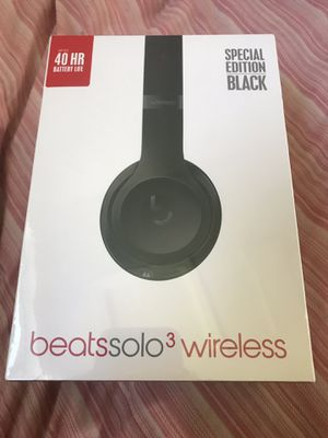 Brand new sealed beats solo 3 wireless headphones for Sale in Cherry Hill, NJ