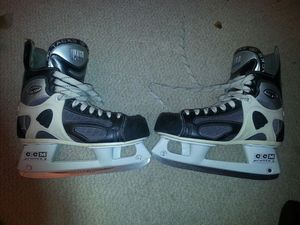 CCM Ultra Tacks Hockey Skates w/Prolite 3 Blades Men's 11 EU 42 for Sale in Rockville, MD