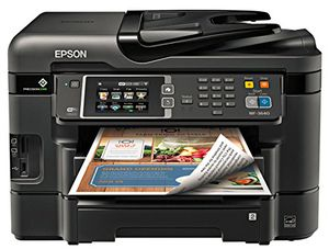 Epson WorkForce WF-3640 Wireless Color All-in-One Inkjet Printer with Scanner and Copier for Sale in Tacoma, WA