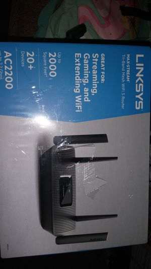 Linksys router for Sale in Compton, CA