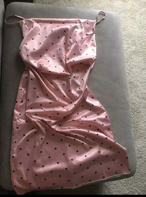 XL Pink polkadot satin dress - brunch, cocktail for Sale in Fort Lauderdale, FL