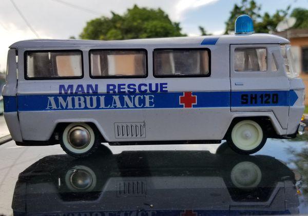 Vintage Tin Toy Ambulance