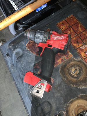 Milwaukee Brushless Drill (Fuel) for Sale in Phoenix, AZ