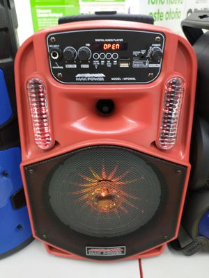 WIRELESS BLUETOOTH SPEAKER WITH FREE KARAOKE AND REMOTE CONTROL for Sale in South Houston, TX