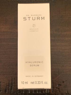 DR. BARBARA STURM MOLECULAR COSMETICS Hyaluronic Serum 10ml / 0.33 fl oz for Sale in Abingdon, MD