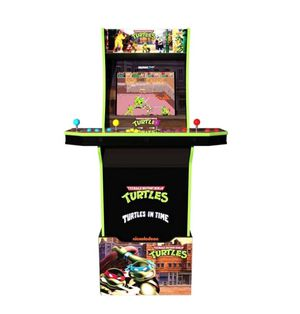 Teenage Mutant Ninja Turtles Arcade1up with Riser, NIB for Sale in Rustburg, VA