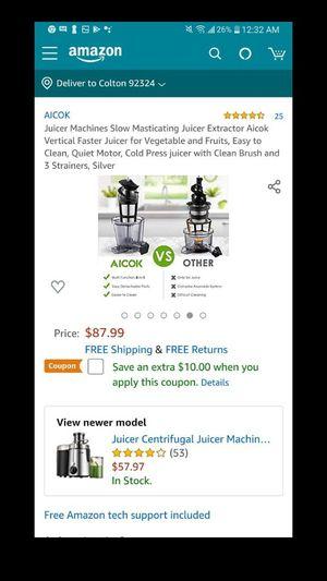 juicer for Sale in Rialto, CA