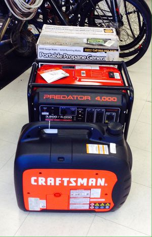 CRAFTSMAN GENERATOR for Sale in Denver, CO