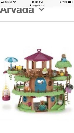 Tree house + school house 5 critters family's for Sale in Aurora, CO