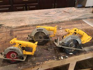 DeWalt saws for Sale in Gambrills, MD