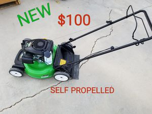 new lawn boy self propelled lawn mower for Sale in Littlerock, CA